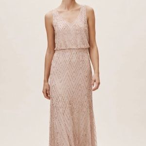 Bridesmaid/evening 💃🏻BHLDN Blaise Dress in Blush